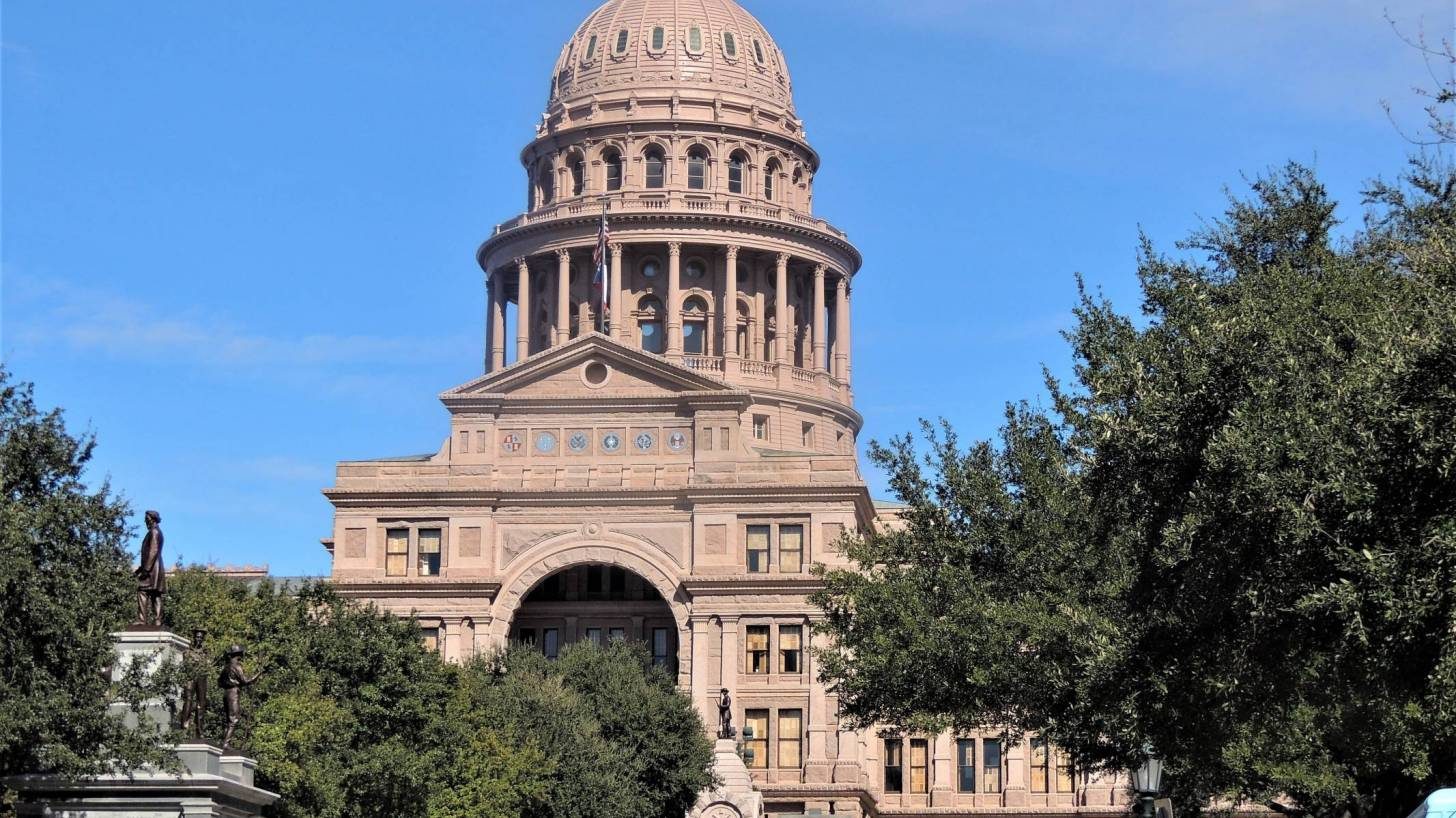 texas capital building in Austin