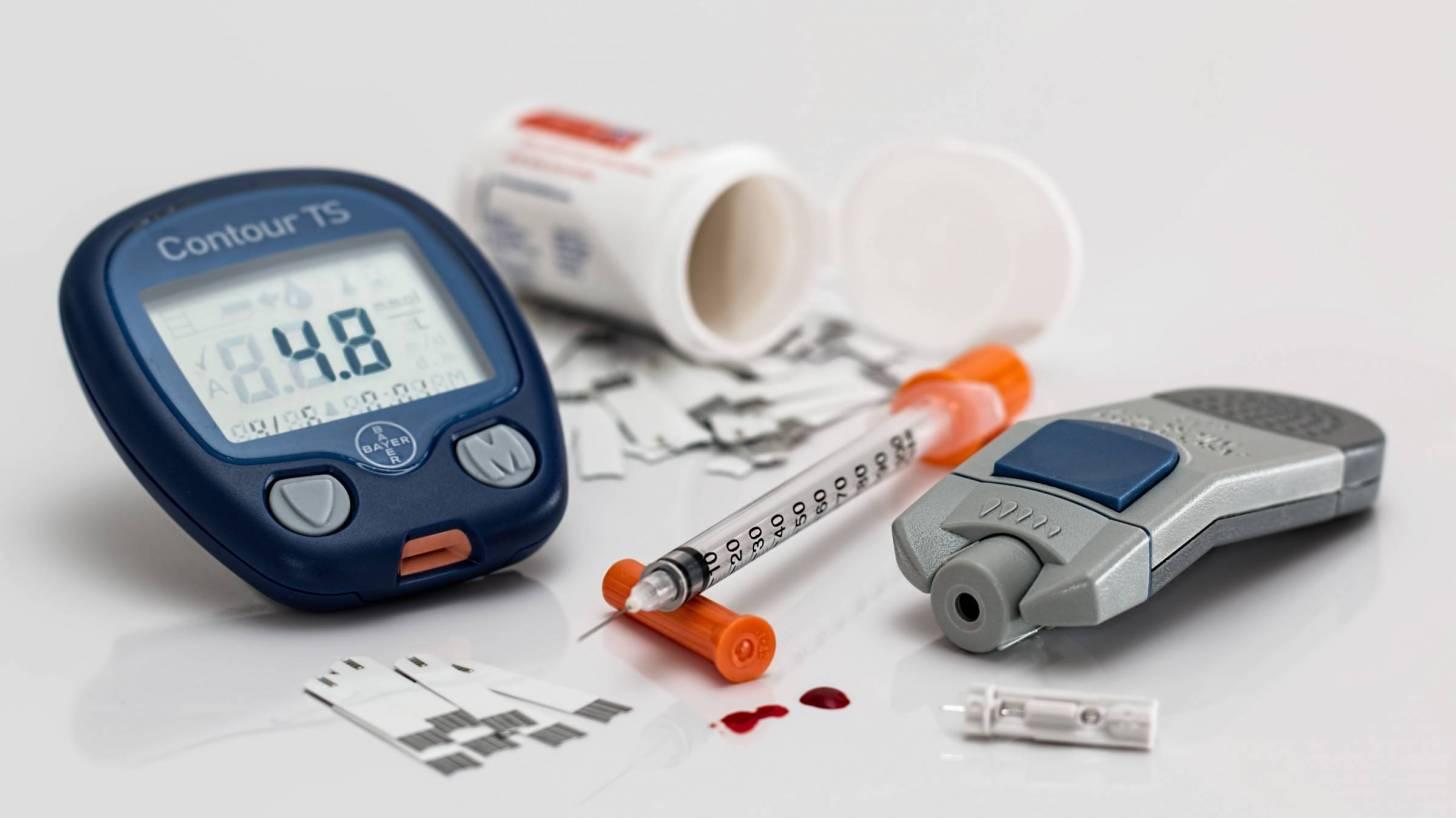 diabetic equipment blood monitor