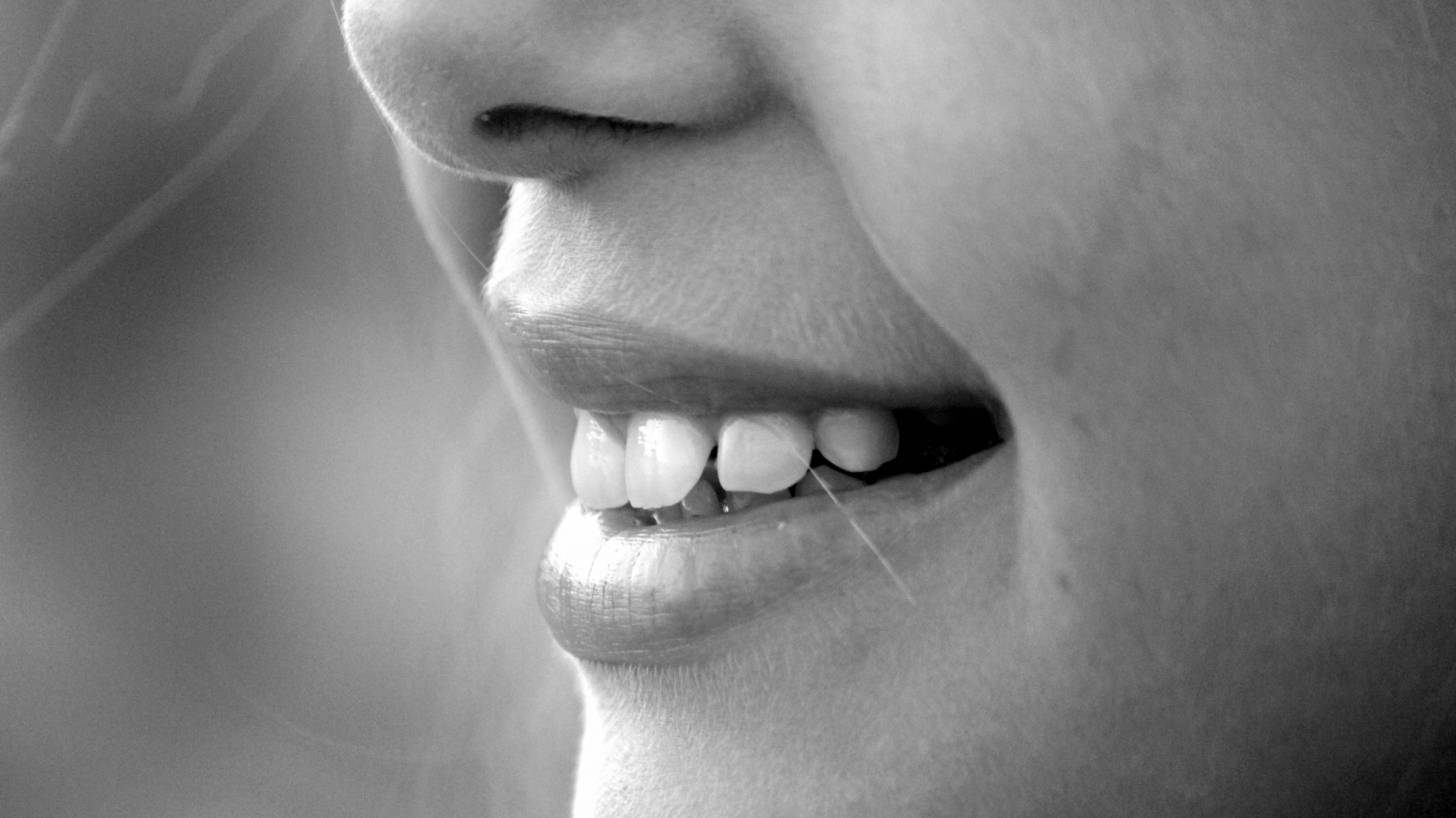 happy smile, white teeth healthy