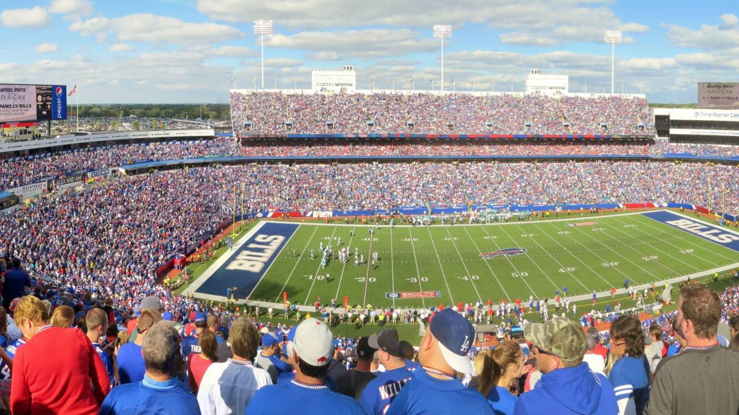 football stadium full last year
