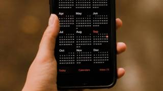 digital phone calendar