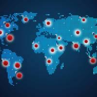 map of coronavirus