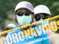 coronavirus people with masks on