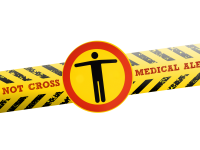 do not cross medical alert