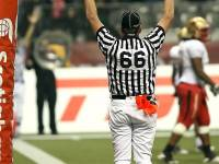 touchdown signal from ref